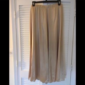 NWT Chico's Gold Skirt Large